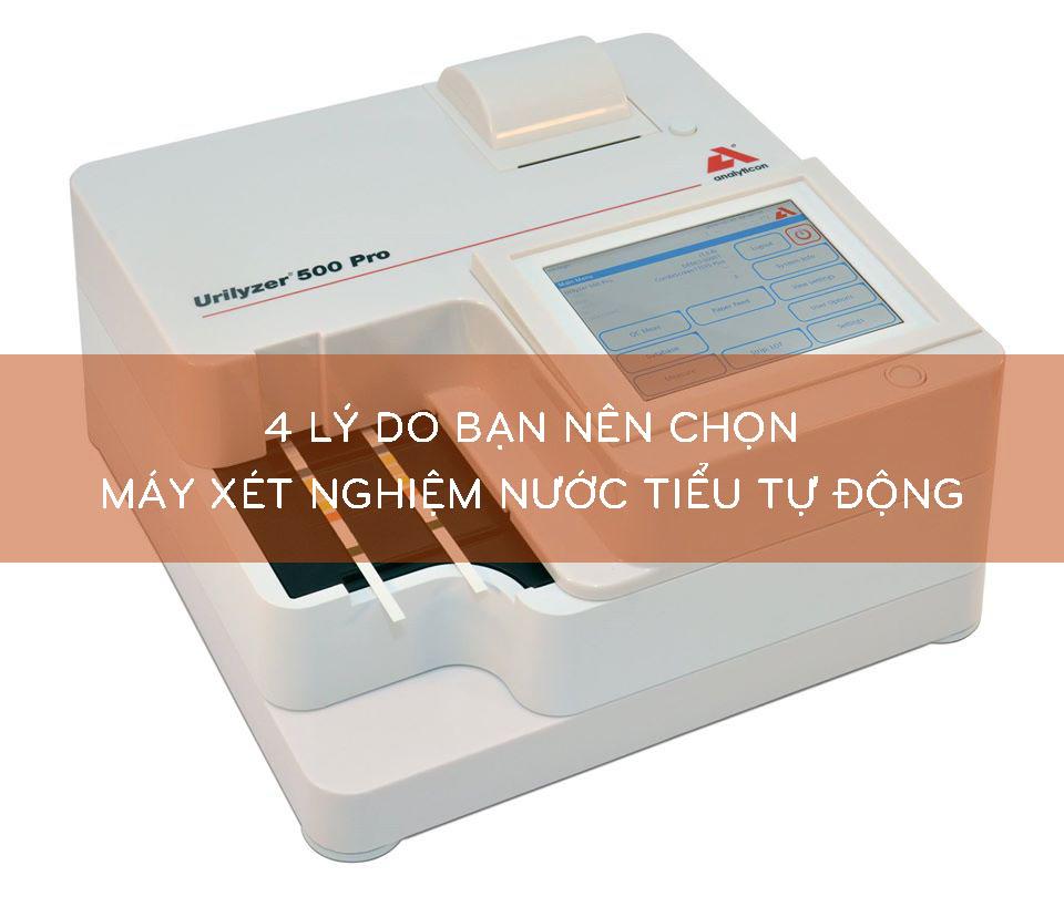 chọn máy xét nghiệm nước tiểu