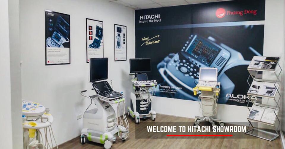 Hình ảnh dòng máy siêu âm tổng quát Hitachi