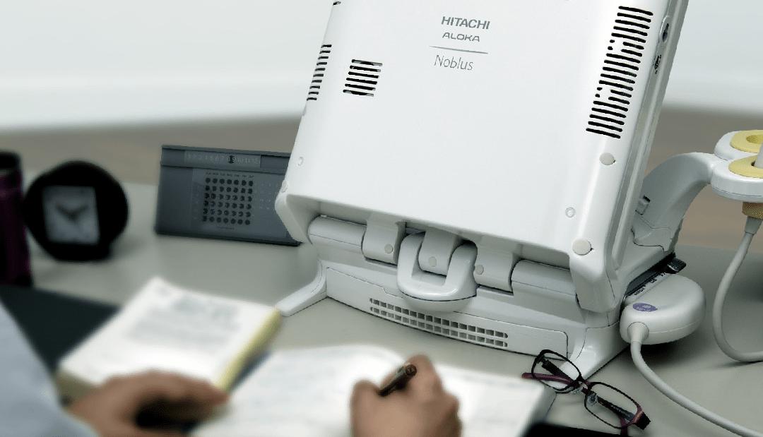 máy siêu âm xách tay 4D