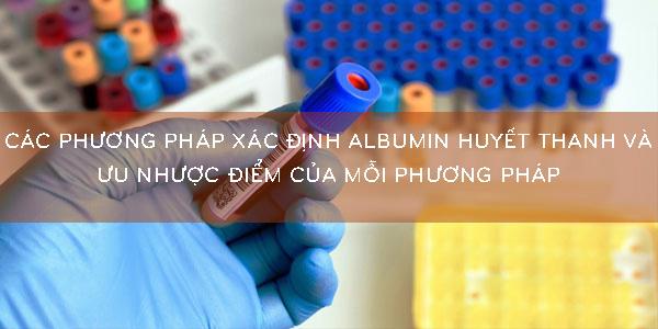 phương pháp xác định albumin