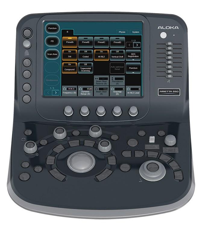 máy siêu âm màu